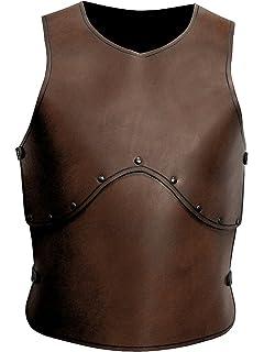 Kurze Armstulpe f/ür Kinder und Erwachsene Andracor Kleine Armschienen aus echtem Leder braun LARP Mittelalter Cosplay /& Wikinger