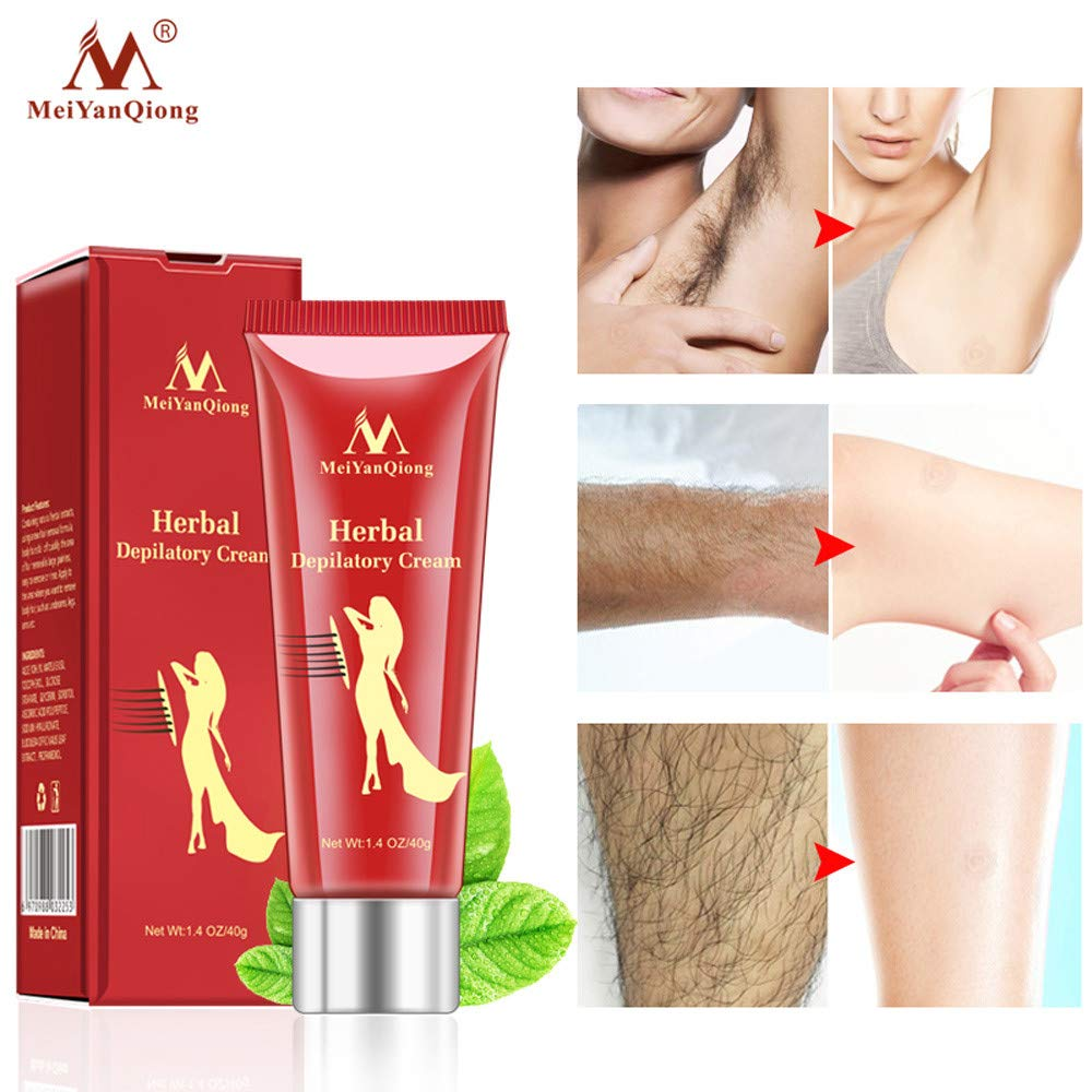 Ginseng Painless Depilatory Hair Removal Cream For Body Leg Armpit Unisex