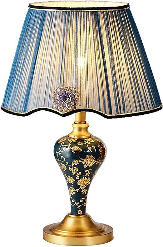 Lámparas de mesa- de cerámica de Cobre, lámpara de Escritorio ...