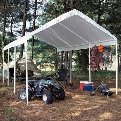 King Canopy 10 x 20 ft. Hercules Enclosed Canopy Carport (King Canopy Carport compare prices)