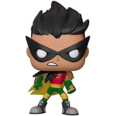 Funko POP TV: Teen Titans GO! The Night Begins to Shine - Robin Collectible Figure: Funko Pop! Television:: Toys & Games