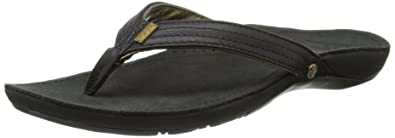 392cf8621be9 Reef Women s Miss J-Bay Flip Flop Black Gold 6 ...