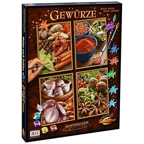 Schipper 609340719 - Spices - Tableau à Dessin - Taille 40 x 50 cm