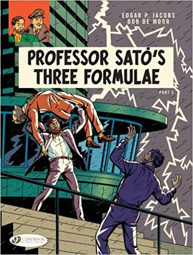 Book Blake and Mortimer Vol. 23: Professor Sato's Three Formulae - Part 2