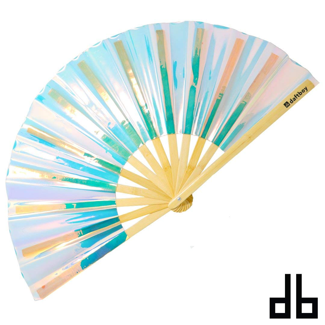 Fluid Fantasy Iridescent Holo Fan by Daftboy
