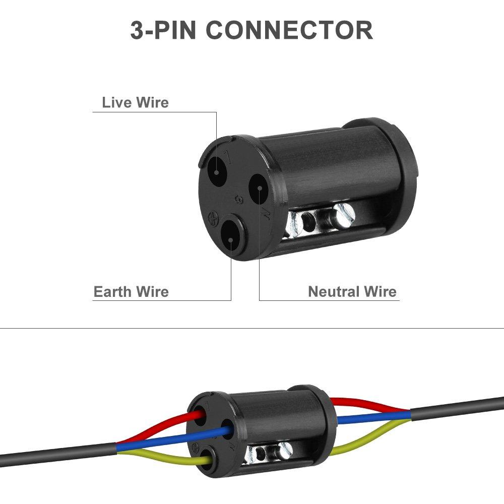 Kabelverbinder Wasserdicht IP68, Topist 2er-Pack Verbindungsmuffe ...