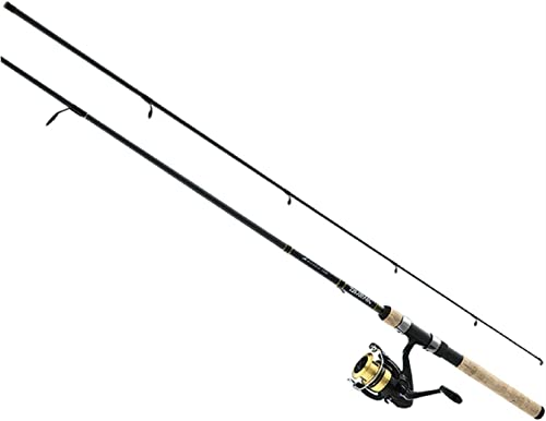 Daiwa, D-Shock Freshwater Spinning Combo, 1 Bearing, 5 6 Length, 2 Piece, Ultra Light Power, Ambidextrous
