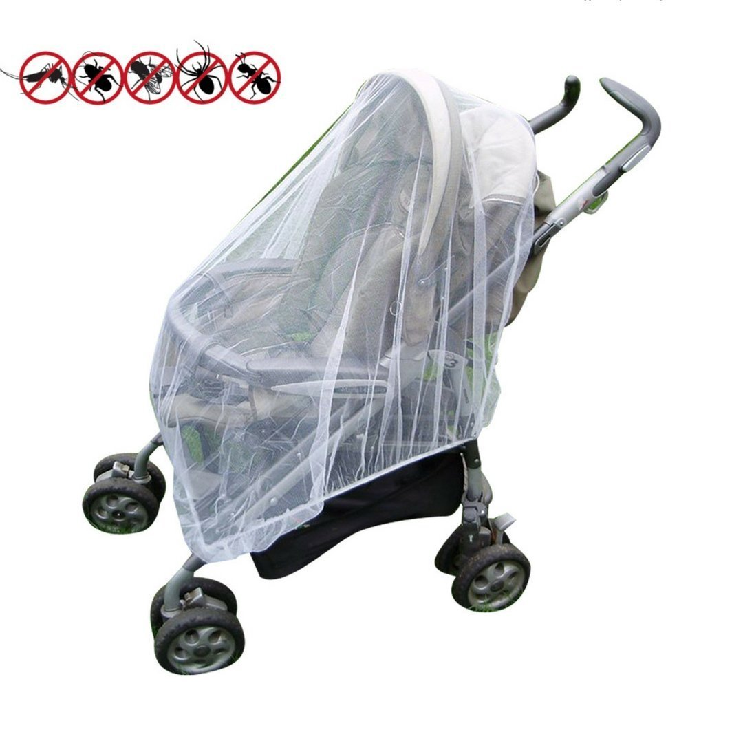 Baby Mosquito Net Infant Insect Net for Prams and Pushchairs Baby Buggies Car Seats Moses Basket Prams and Travel Cots by Mosquito Nets 4 U® OM-ZJBW-ND0M