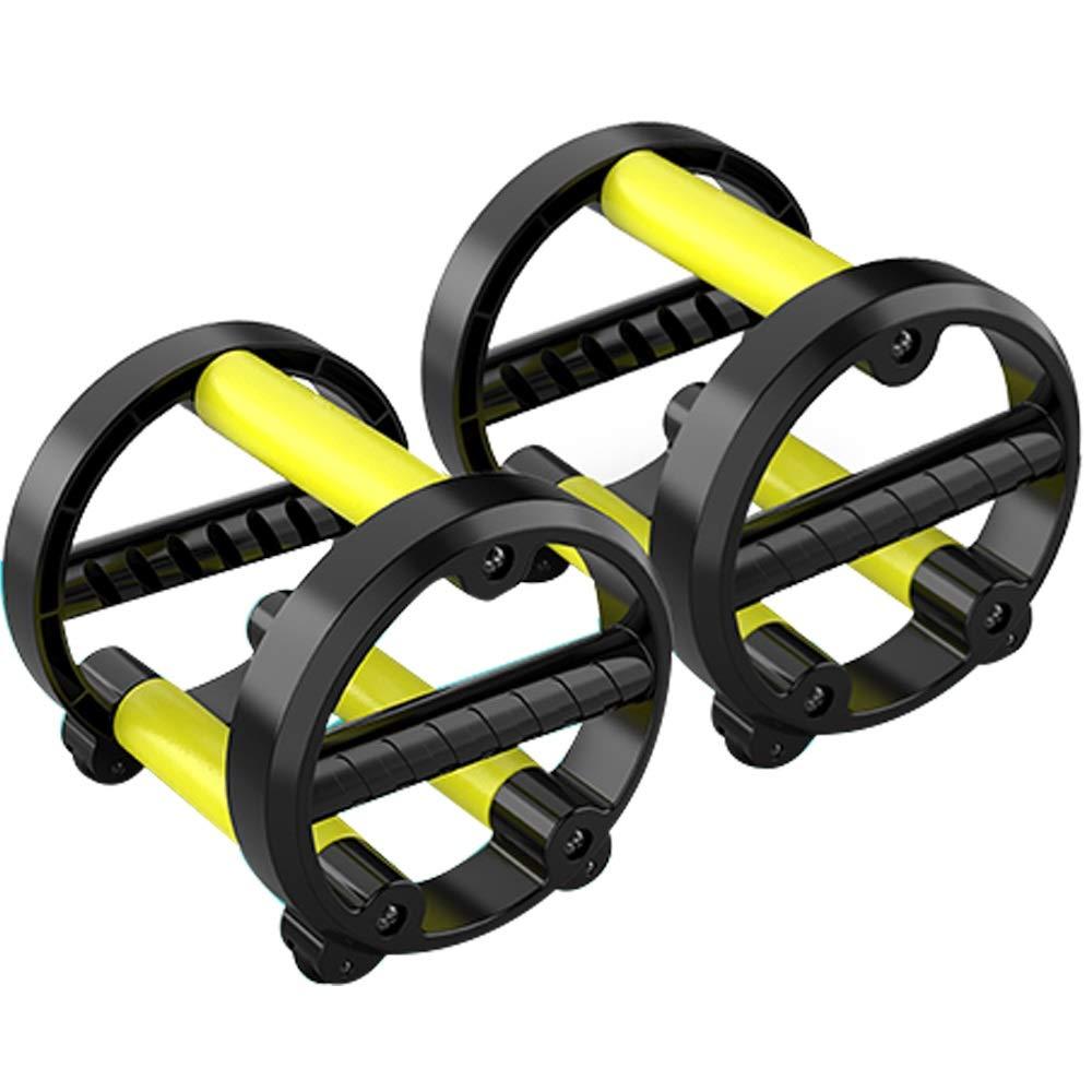 Byx- Belly Wheel Men's Silent Beginner Home Fitness Equipment Abdominal Muscle Abdomen Thin Waist Female Belly Roller Slippery -Roller Wheel by Byx- (Image #1)