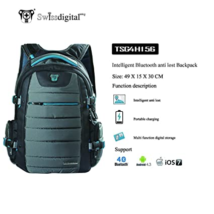 digitalshield (TM) Smart anti Lost Alarm Mochila Inteligente Bluetooth recuerdan utilizar como publicty para