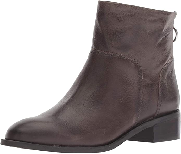 Franco Sarto Womens Brady Ankle Boot, Iron, 8.5 M US, Iron, Size 8.5