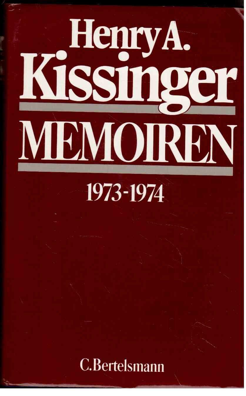 Memoiren, Bd.2, 1973-1974