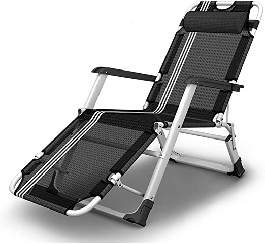 XEWNEG Tumbona Plegable para jardín, reclinable Ajustable, Oficina ...