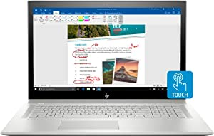 "HP Envy 17M 2019 Flagship 17.3"" Full HD IPS Touchscreen Business Laptop, Intel Quad-Core i7-8550U 32GB DDR4 1TB SSD 2TB HDD 2GB GeForce MX150 DVD BT 4.2 Backlit Keyboard Windows Ink Win 10"