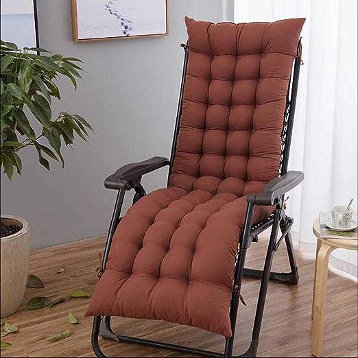 GAOZHEN mecedora de jardín interior, sillón balancín, cojín con respaldo alto, plegable, sin longitud de la silla, 155 x 48 cm: Amazon.es: Hogar