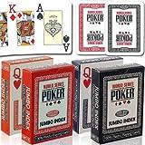 WSOP - MODIANO World Series of Poker Jumbo Index 100% Plastic Poker Cards by WSOP by WSOP