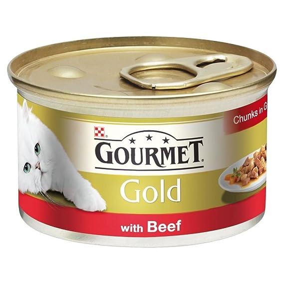 Trozos de carne Gourmet oro en Gravy 85g