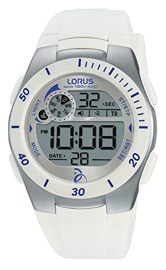 Relojes Lorus Unisex-Reloj Novak Djokovic Foundation Cuarzo Digital Caucho R2379KX9: Amazon.es: Relojes