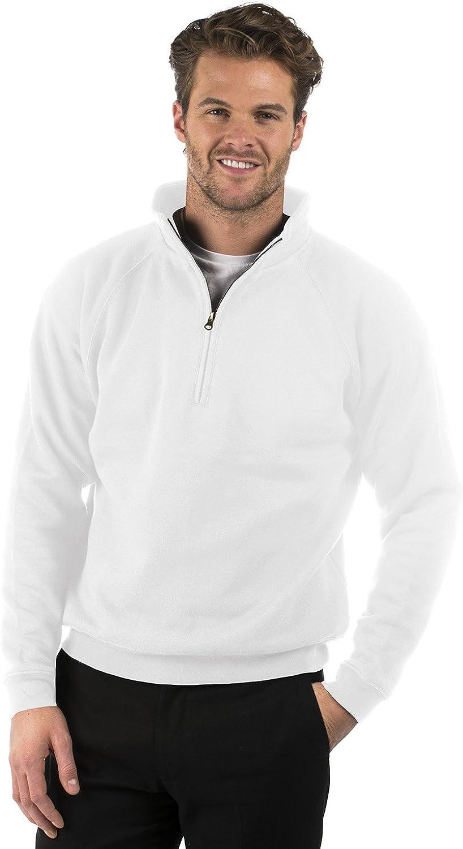 Cotton//Polyester Mens /& Ladies Bruntwood Classic Crew Neck Sweatshirt 280GSM