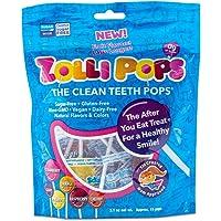 Zollipops Clean Teath Pops Mix Fruit, 3.1 oz.