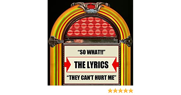 So What They Cant Hurt Me By The Lyrics On Amazon Music