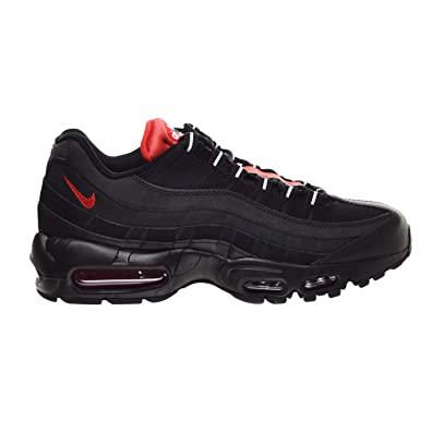 sports shoes 93c63 b713e Nike Air Max 95 Essential Men s Shoes Black Challenge Red White 749766-016