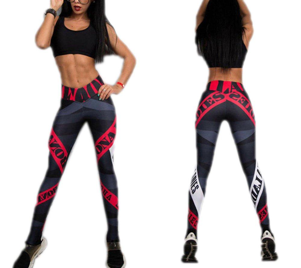 MVNTOO Sport Leggings Women I Love Squats Print Fitness High Waist Pant Female Fitness 2 L by MVNTOO (Image #1)