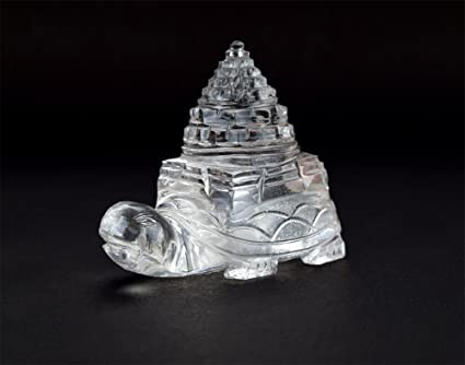 Buy Crystal Sri Yantra Statue Online at Low Prices in India