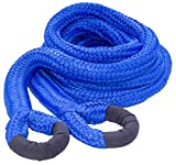 DitchPig 448561 Kinetic Energy Vehicle Recovery Double Nylon Braided Rope with Duffel Bag, 2'' x 30'