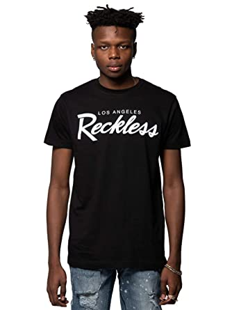 finest selection 447b5 42dfb Young and Reckless - OG Reckless Tee - Black White - S - Mens -