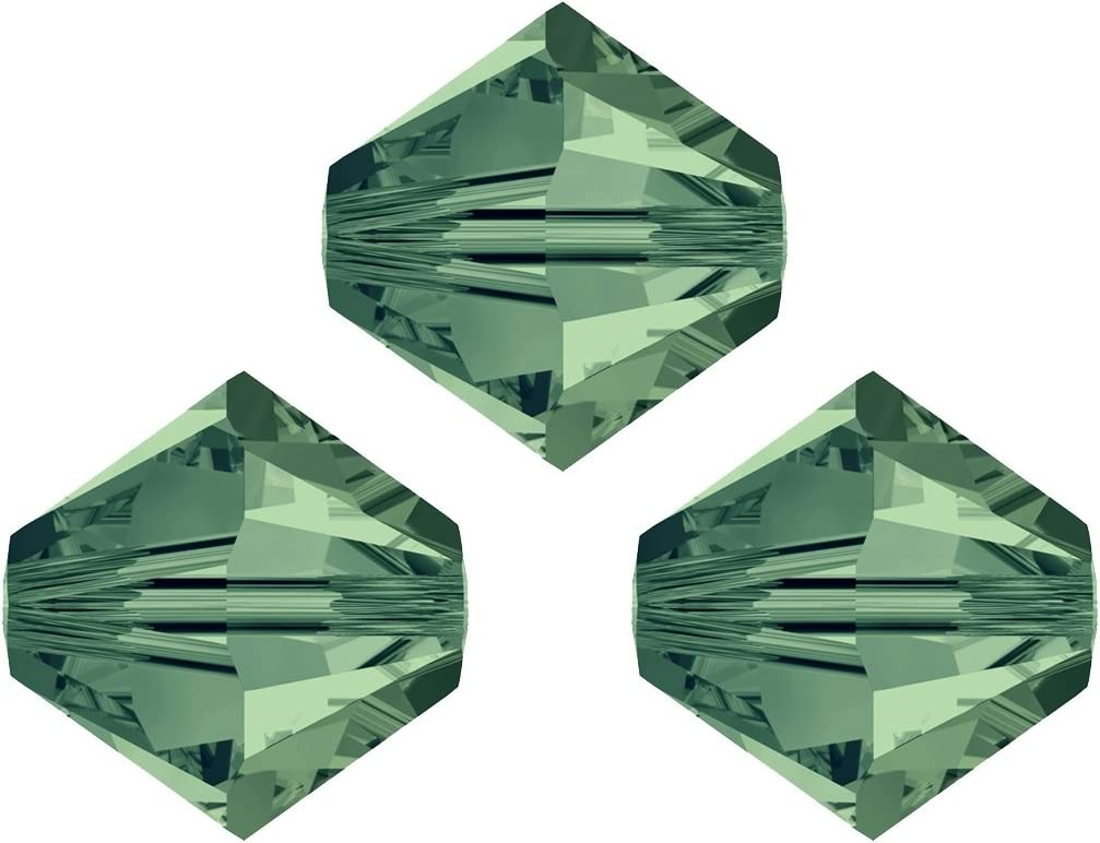 00 Crystal Swarovski bicono perline 5328/conico 6/mm 10