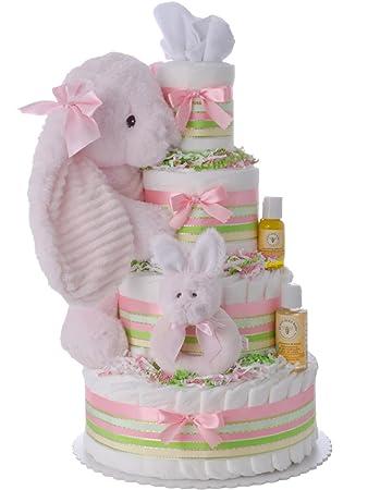 Amazon.com: Lil tarta de pasteles Lil Cottontail pañales ...