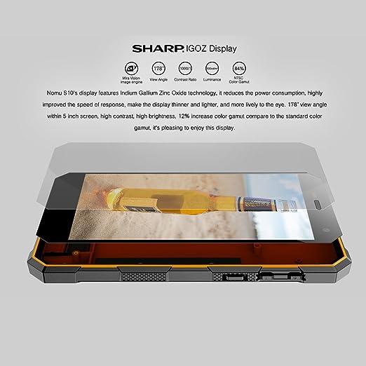 NOMU S10 Smartphone IP68 Impermeable 4G LTE Dustproof Shockproof ...