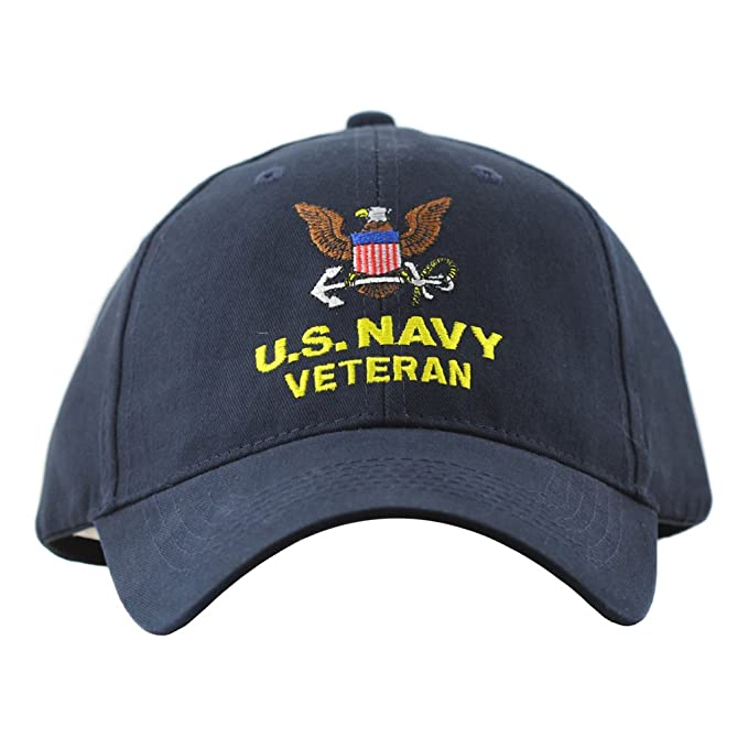 f96e941df36 Image Unavailable. Image not available for. Color  Eagle Crest United  StatesNavy Veteran Hat Men Women