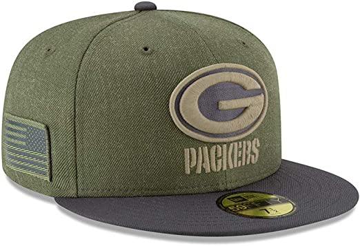 New Era 59Fifty Hat Green Bay Packers