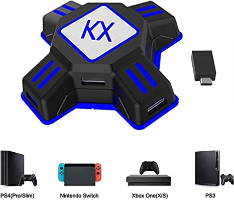 KX Mouse Keyboard Converter, Game Controller Adapter para USB 2.0 ...