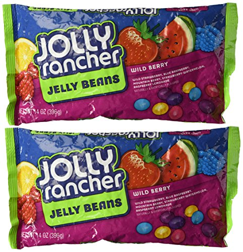 Jolly Rancher Wild Berry Jelly Beans, 14 oz (2 (Jolly Rancher Jelly Beans)
