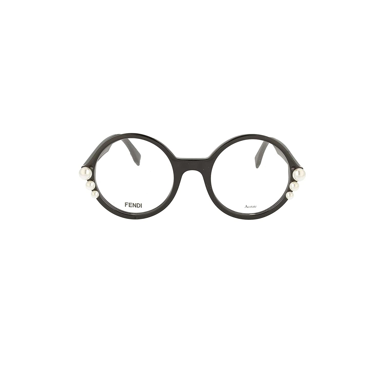 a61fd706afc3 FENDI Eyeglasses FF 0298 0807 Black at Amazon Men s Clothing store