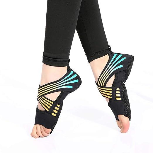 Vendaje Aéreo Calcetines de Yoga Antideslizantes Cinco Dedos ...