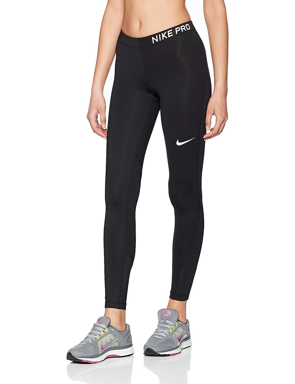 5993ccdb70cbb Galleon - Nike Women's Pro Tights Black/White Size XX-Large