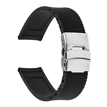 Amazon.com: TRUMiRR - Correa de silicona para reloj Samsung ...