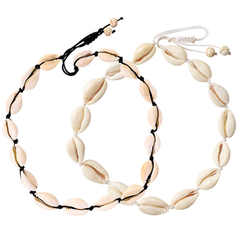Bohemian Sea Shell Conch Pendant Necklace Collar Choker Beach Charm Jewelry ed