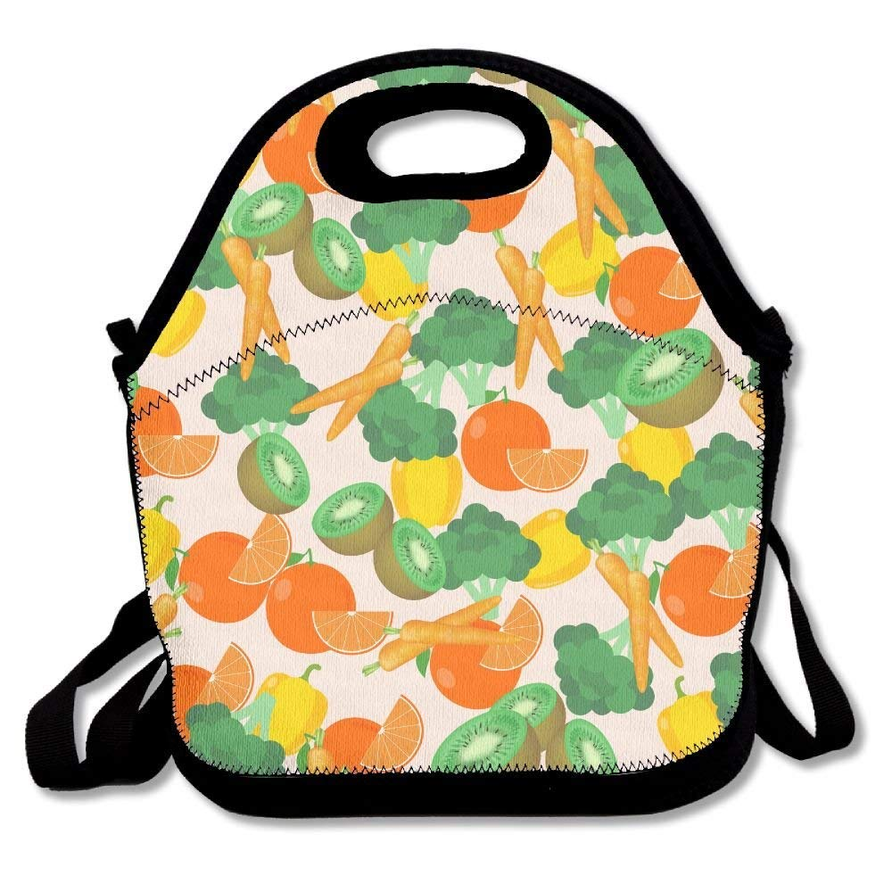 4bd3010b2cca Amazon.com: Cool Funny Girls Boys Lunch Tote Bag Dinosaurs Foraging ...