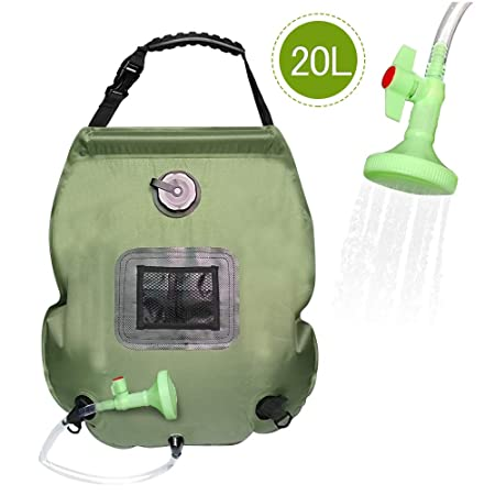 front facing frebw hose and shower bag