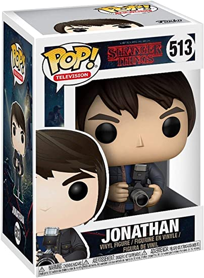 Funko Pop Stranger Things Jonathan with camera