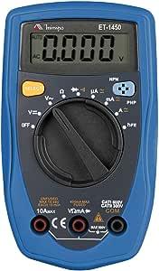 Multimetro Digital CAT II 300V ET-1450 Minipa