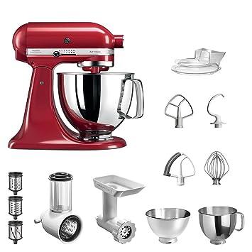 KitchenAid ARTISAN Küchenmaschine Empire Rot im STARTER-SET. inkl ...
