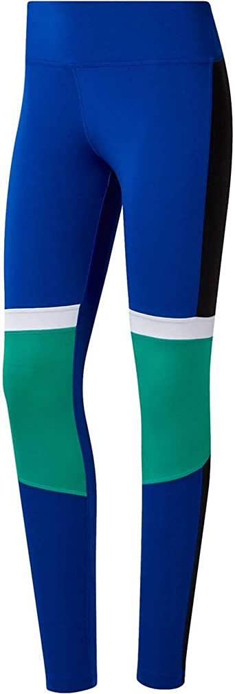 Reebok Women's Wor Myt Paneled Polytight Tights, womens, DY8085