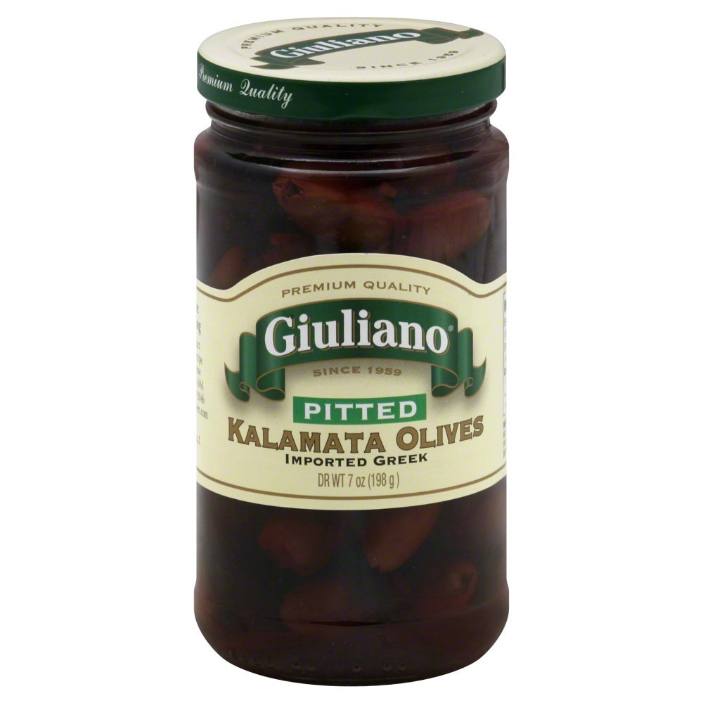 Giulianos Pitted Kalamata Olive, 7 Ounce - 6 per case.