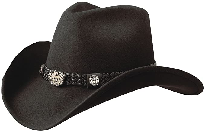 Amazon.com: Jack Daniel s sombreros Crushable repelente al ...
